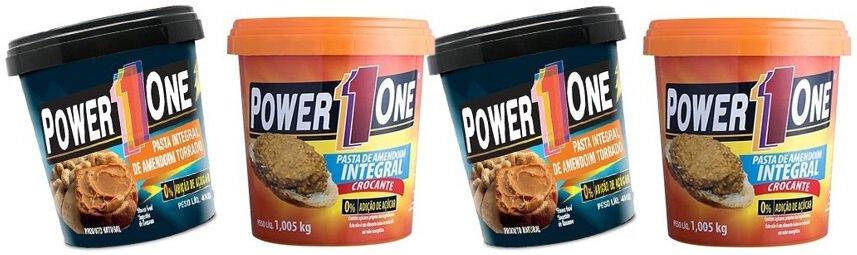 pasta de amendoim power one