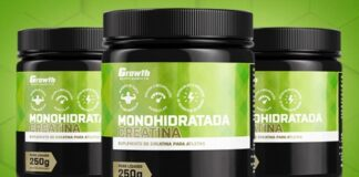 Creatina Monohidratada Growth Supplements