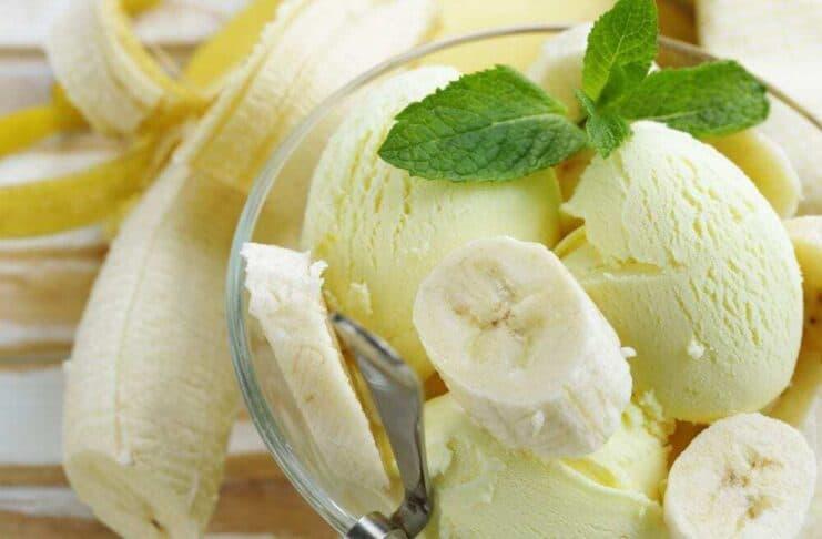 Receita caseira de Picolé de Banana e Sorvete de Banana FIT