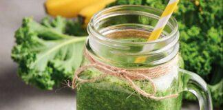 Suco Detox de Couve com Limão e Gengibre para Emagrecer