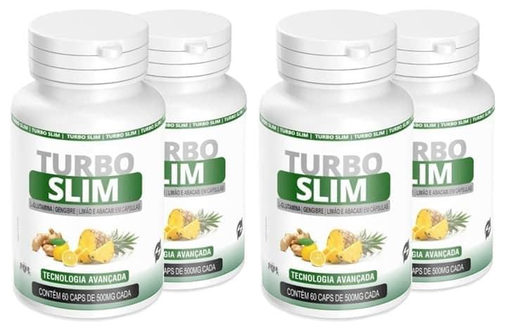 Turbo Slim para Emagrecer - Benefícios, colaterais e Ingestão