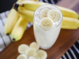 Vitamina de Banana com Aveia (ganho de massa muscular)