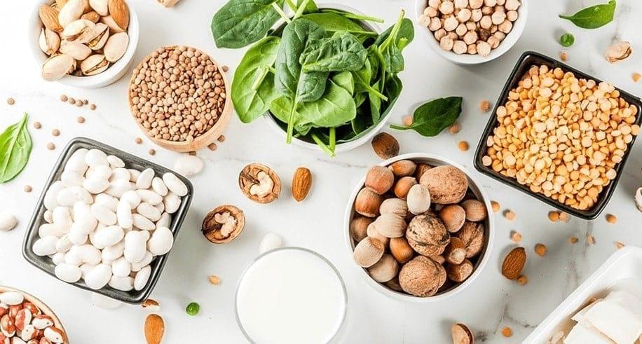 10 super fontes de Proteínas para Veganos