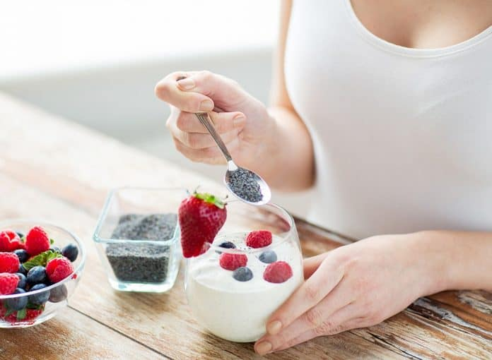 Comidas fitness para café e lanches