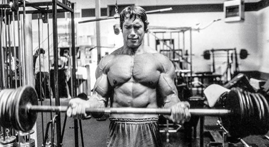 Treino de Bíceps do Arnold Schwarzenegger