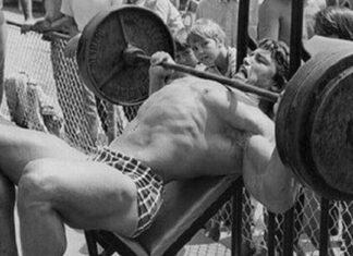 Treino de Peito do Arnold Schwarzenegger Supino Inclinado