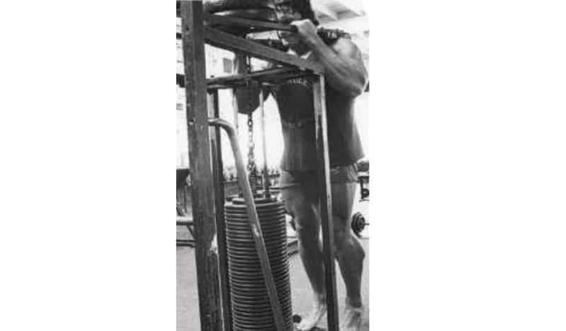 Treino de Pernas do Arnold Schwarzenegger Panturrilhas em Pé