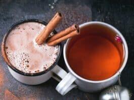 Chá de gengibre com canela e Limão para Emagrecer