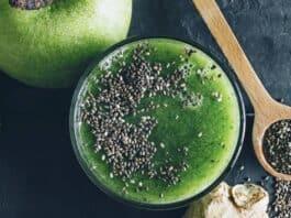 Receita de Suco Verde para Limpar o Intestino (receita caseira)
