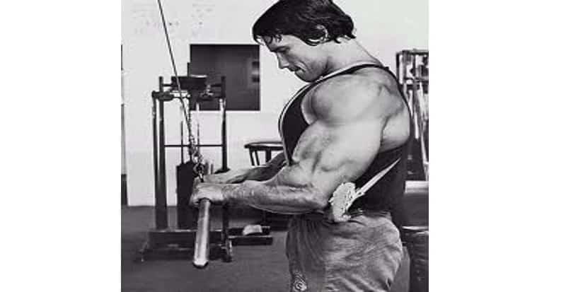 Puxada para Tríceps