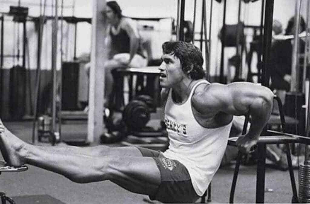 Treino de Tríceps do Arnold Schwarzenegger