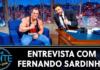 Entrevista com Fernando Sardinha no The Noite