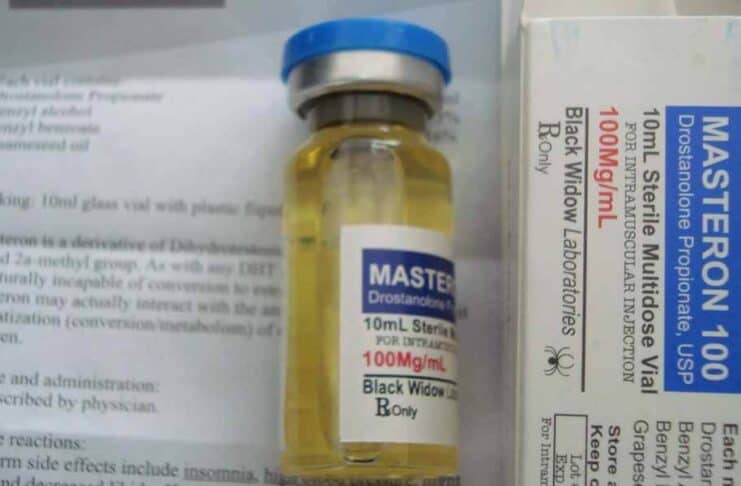 Quais os efeitos colaterais do Masteron?